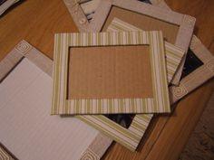 Dům na Krásné: Rámečky z kartonu