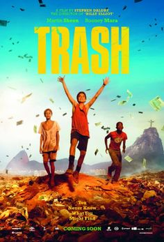 Trash by Andy Mulligan  -  When three boys in a third world country discover something valuable in a trash heap, they find themselves at the heart of a major mystery.