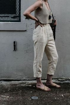 Wander guide: new orleans style fashion, linen pants outfit 90s Fashion, Boho Fashion, Fashion Outfits, Fashion Tips, Fashion Trends, Female Fashion, Milk Fashion, Fashion Poses, Fashion Hacks