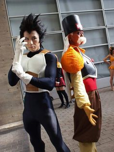 Bad ass Dragonball Z cosplay