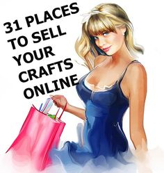 Photography Jobs Online - The 31 best places online where you can start selling your art and crafts right away. - If you want to enjoy the good life: making money in the comfort of your own home with just your camera and laptop, then this is for you! Selling Crafts Online, Craft Online, Selling Art, Sell Stuff Online, Fun Craft, Craft Sale, Make And Sell, How To Make Money, Craft Font