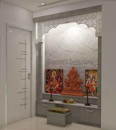 Pooja Room Design, Room Design, Temple Design For Home, Room Door Design, Living Room Partition Design, Cupboard Design, House Interior Decor, Living Room Designs, Girls Room Decor