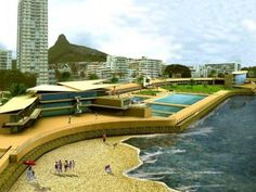 Under Construction, Cape Town, Pavilion, Proposal, South Africa, Real Estate, Sea, Running, Outdoor Decor