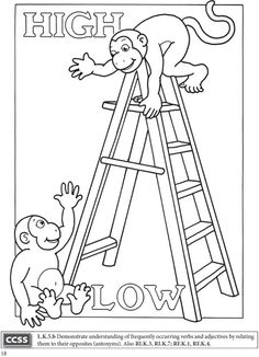 Pre School Coloring Book Best Of Boost Fun with Opposites Coloring Book Dover Publications Boost Coloring Books Kindergarten Coloring Pages, Kindergarten Colors, Kindergarten Lessons, Educational Activities For Kids, Preschool Activities, Opposites Preschool, Welcome To School, Teachers Be Like, Printable Preschool Worksheets