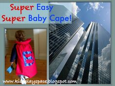 "Practically ""no-sew"" super baby cape"