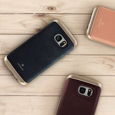 b6a77a720fd Caseology Galaxy S7 Edge Envoy Series Real Leather Phone Case - Safely  Slim  Join the