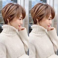 Short White Hair, Edgy Short Hair, Asian Short Hair, Short Hair With Layers, Short Hair Cuts, Shot Hair Styles, Curly Hair Styles, Japanese Short Hair, Haircuts For Thin Fine Hair