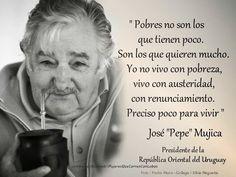 Mi Universar: No soy pobre (Pepe Mujica)