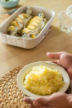 Siika uunissa ja sitruunainen perunasurvos
