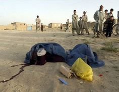 These ladies were killed in the street by Taliban.  Taliban said they were prostitutes, but really they were workers who were working for a U.S. global consulting firm.