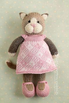 Résultats de recherche d'images pour « little cotton rabbits Knitted Bunnies, Knitted Cat, Knitted Animals, Knitted Dolls, Knit Or Crochet, Crochet Toys, Animal Knitting Patterns, Little Cotton Rabbits, Original Design