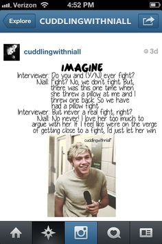imagine on Pinterest | One Direction Imagines, Niall Horan and One