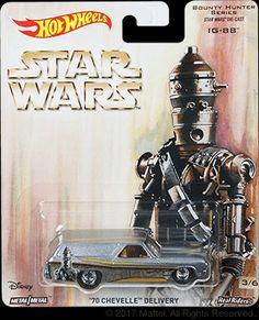 IG-88 Disney Cars Toys, Star Wars Bounty Hunter, 70 Chevelle, Play Vehicles, Matchbox Cars, Hot Wheels Cars, Disney Star Wars, Vintage Toys, Diecast
