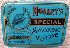 Mooney's Special tobacco tin