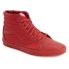 5bb33faeaf51a0 Vans  Sk8-Hi Reissue Plus  Sneaker ( 95) via Polyvore featuring men s