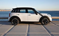 Mini Cooper Countryman...hard to believe one of these beat out Hummer in the Dakar Rally!
