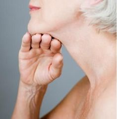 NECK EXERCISES! Save the gobbling for Thanksgiving, no surgery needed, tighten up that neck!