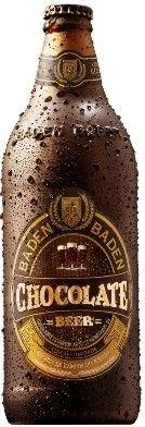 Cerveja Baden Baden Chocolate Beer, estilo Specialty Beer, produzida por Baden Baden, Brasil. 6% ABV de álcool.