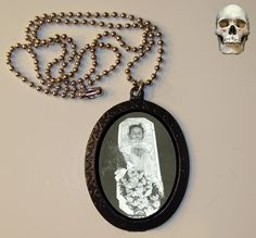 Victorian Post Mortem/ Sleeping Beauty  Necklace