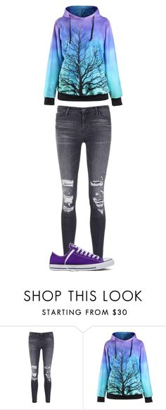 """""""Untitled #145"""" by maya-03-b on Polyvore featuring J Brand and Converse"""