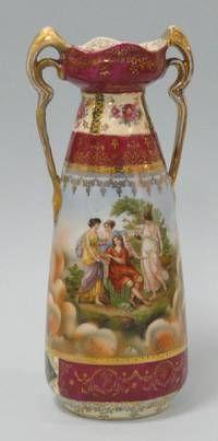 Vase, um 1900, Suhl, Schlegelmilch, Thüringen