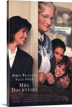 """MRS DOUBTFIRE with Robin Williams and Sally Fields.Amen used this film to demonstrate attention deficit disorder. Beginning scenes show Robin Williams say to his employer: """"In the words of Porky Pig. See Movie, Movie List, Movie Tv, Movies Showing, Movies And Tv Shows, Film Mythique, Cinema Tv, Bon Film, Movies Worth Watching"""
