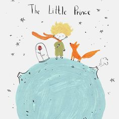 You can see only with the heart what is Right and good. Little Prince Quotes, The Little Prince, Prince Drawing, Famous Book Quotes, Small Canvas, Kids Logo, Conte, Nursery Prints, Watercolor Illustration