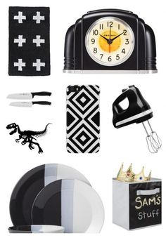 Love all this black and white home decor inspiration that's all super affordable
