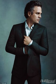 Mark Ruffalo. So cute.  Notice how I always have to have at least ONE photo in a suit.
