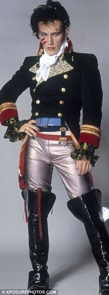 Adam Ant haha yes I am old enough to remember him!