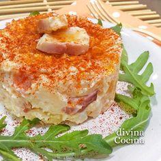 Esta ensaladilla de pulpo es una idea original y sencilla para variar la clásica ensaladilla rusa, con aromas marineros y muchísimo sabor.