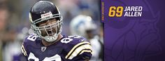 Minnesota Vikings: Jared Allen SHOW TIME!!!