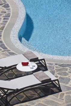 4 + 1 Bedroom Villa in Plaka area in Naxos! Proud member of Naxos Premium Breeze, Swimming Pools, Aqua, Villa, Luxury, Outdoor Decor, Photography, Bedroom, Fotografie