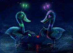 Courage the cowardly dog; The duck brothers