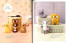 Easy Kawaii Felt Handmade Mascots Japanese Craft Book