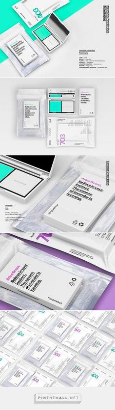 moonshot Powder Duo #Cosmetics #packaging designed by Minimalist - http://www.packagingoftheworld.com/2015/05/moonshot-powder-duo.html
