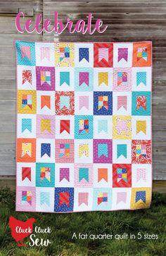 Celebrate quilt pattern - Bloomerie Fabrics