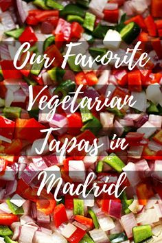 Think that meat-eaters have all the fun in Madrid? Many of Madrid's typical tapas don't include meat! Here are our favorite vegetarian tapas in Madrid. Vegetarian Tapas, Vegetarian Options, Vegetarian Recipes, Veggie Recipes, Great Recipes, Veggie Food, Food Huggers, Food Garnishes, Pitta