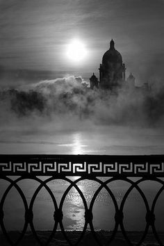 Russia. foggy Saint Petersburg //  // by Виктория Козлова.