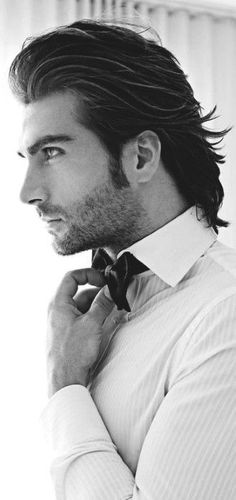 Skip the trends and take a stylish step back in time with these top 60 best old school haircuts for men. Discover cool hairstyles with traditional class. Cool Short Hairstyles, Slick Hairstyles, Mens Medium Long Hairstyles, Formal Hairstyles, Medium Hair Styles, Short Hair Styles, Slicked Back Hair, Mid Length Hair, Long Hair Cuts