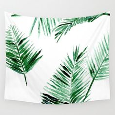 A personal favorite from my Etsy shop https://www.etsy.com/listing/478309212/palm-leaf-wall-tapestry-palm-leaf