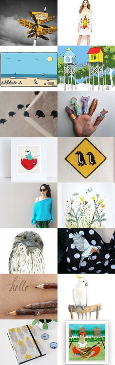 Meet the locals by Anna Cull on Etsy--Pinned+with+TreasuryPin.com