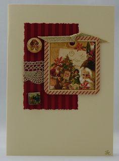 Handmade Christmas Card - Christmas Tree £2.50