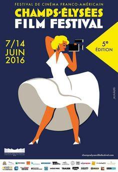 Affiche Festival Cinéma Franco-américain