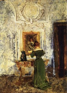 Lady in Green, William Merrit Chase