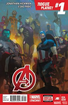 Marvel surges into 2014 with All-New Invaders, Inhuman, Avengers and more as part of an exciting new initiative! http://marvel.com/news/story/21132/recharge_with_all-new_marvel_now