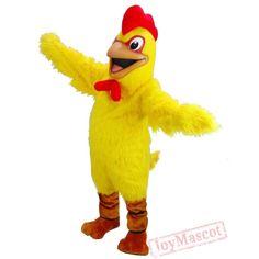 Yellow Chicken Mascot Costume Disney Characters Costumes, Fictional Characters, Chicken Costumes, Disney Cosplay, Promotional Events, Amazing Cosplay, Mascot Costumes, Tigger, Pikachu