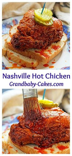 The ultimate Nashville Hot Chicken recipe! | Grandbaby Cakes
