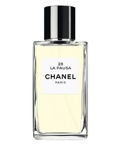 Les Exclusifs de Chanel 28 La Pausa Chanel. Piquant floral iris perfume from French Rivier, 28 La Pausa is filled with contrasts. It is radiant yet delicate, earthy yet powdery, with a soothing and calming character.  It represents a delicate, woody-floral fragrance, clear, silky and piquant.