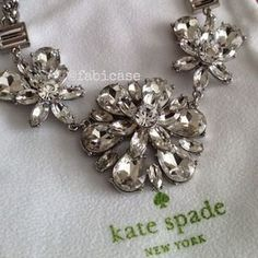 I just discovered this while shopping on Poshmark: HOST PICKAuthentic Kate Spade Necklace. Check it out! Price: $145 Size: OS, listed by fabicase